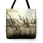 Beach - Sepia Tote Bag
