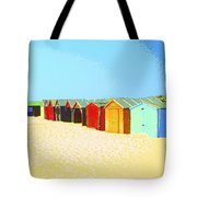 Beach Shacks Down Under Tote Bag