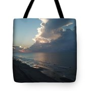 Beach Silver Lining  Tote Bag
