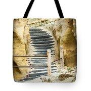 Beach Stairs Tote Bag