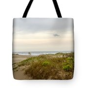 Beach Sunrise At South Padre Island, Tx Tote Bag