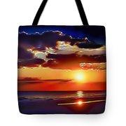 Beach Sunset 5184 Tote Bag