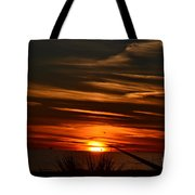 Beach Sunset Alabama Tote Bag
