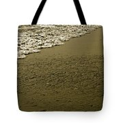 Beach Texture Tote Bag