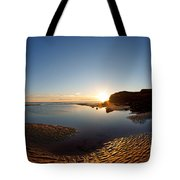 Beach Textures Tote Bag