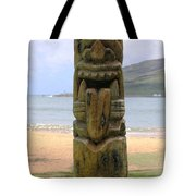 Beach Tiki Tote Bag