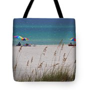 Beach Time At The Gulf - Before The Oil Spill Disaster Tote Bag