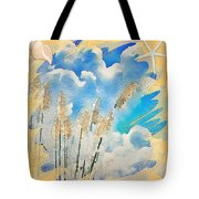 Beach Tote With Toi Toi Grass Tote Bag