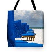 Beach Umbrellas 3 By Darrell Hutto Tote Bag