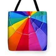 Beach Umbrella's Cell Phone Art Tote Bag