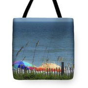 Beach Umbrellas Tote Bag