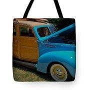 Beach Wagon Tote Bag