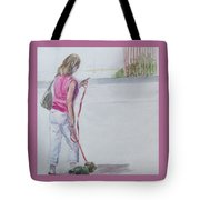Beach Walking Tote Bag