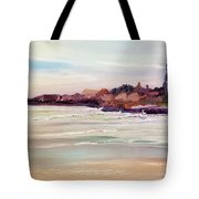 Beach Warmth Tote Bag