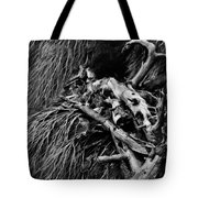 Beach Wood Tote Bag