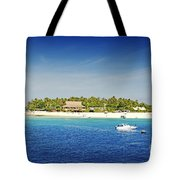 Beachcomber Island Tote Bag