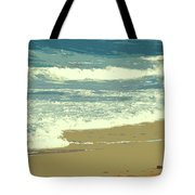 Beachcombers Walk Tote Bag