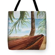Beached Boat Tote Bag