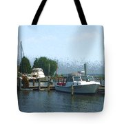 Beached Buoys Tote Bag