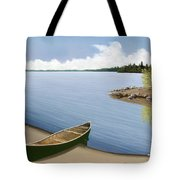 Beached In Ontario Tote Bag
