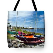 Beached In Sebastian Florida Tote Bag