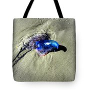 Beached Jellyfish 001 Tote Bag