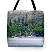 Beached Overnight Tote Bag