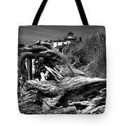 Beached Tree Stump Tote Bag