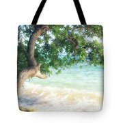 Beachscape Tree Tote Bag