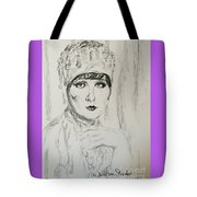 Beaded Chapeau Tote Bag