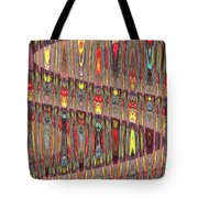 Beaded Curtain Tote Bag