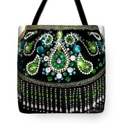 Beadwork And Rhinestones. Belly Dance Fashion Tote Bag
