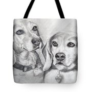 Beagle Boys Tote Bag