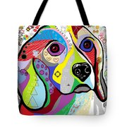 Beagle Tote Bag by Eloise Schneider