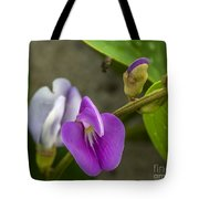 Beaked Butterfly Pea 9 Tote Bag