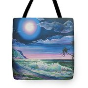 Bealtaine Moon Tote Bag