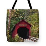 Bean Blossom Bridge I Tote Bag