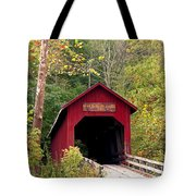 Bean Blossom Bridge II Tote Bag