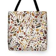 Bean Painting Tote Bag