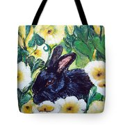 Bean The Magical Rabbit -pet Portrait Tote Bag