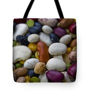 Beans Of Many Colors Tote Bag
