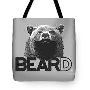 Bear And Beard Tote Bag