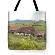 Bear Basin Ranch Tote Bag