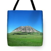 Bear Butte On Summer Day Tote Bag