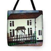 Bear Cottage Tote Bag