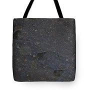 Bear Flurries Tote Bag