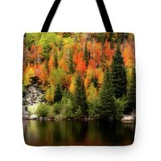 Bear Lake Autumn Tote Bag