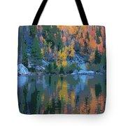 Bear Lake Colorado Poster Tote Bag