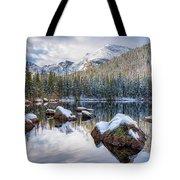 Bear Lake Holiday Tote Bag