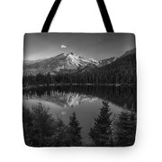 Bear Lake In Black And White Tote Bag